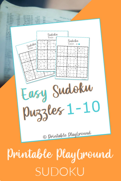 Easy Sudoku Games 1-10