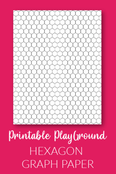 Printable hexagon graph paper